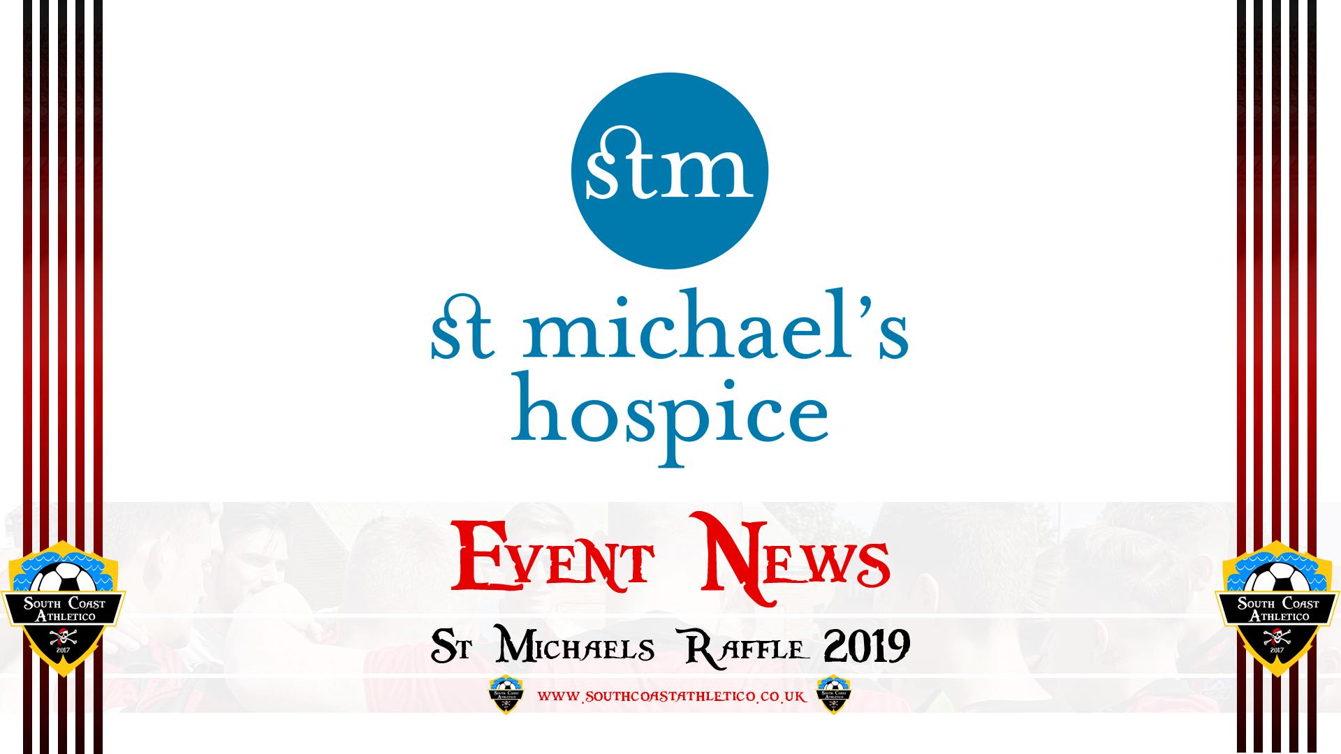 Event News – St Michael's Hospice Raffle – South Coast Athletico